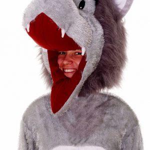 Plush Storybook Wolf