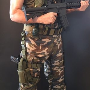 Adult/Kids Battle Ready Soldier