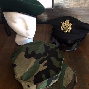 Vintage Military Hats/Helmets