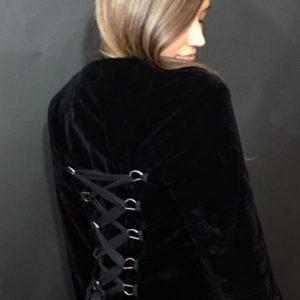 Black Victorian Style Coat