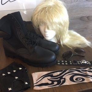 1980's Hard Rocker Costume