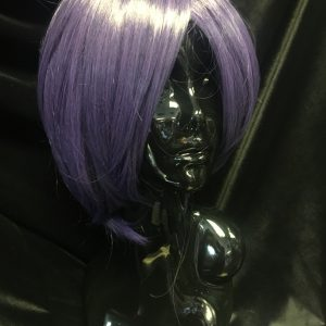 Short Purple Cosplay Wig