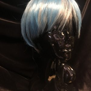 Short Blue Cosplay Wig