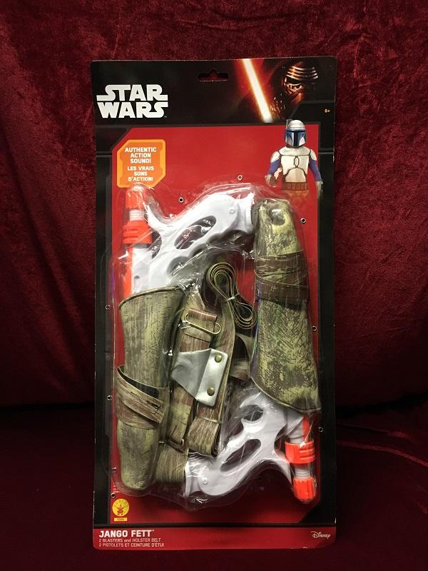 Jango Fett Blasters and Holster Star Wars Costume Fancy Dress