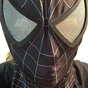Black Spider-man Bodysuit