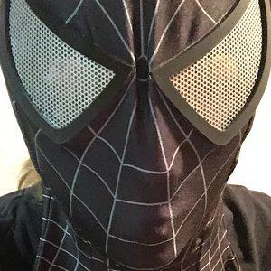 Black Spider-man Bodysuit