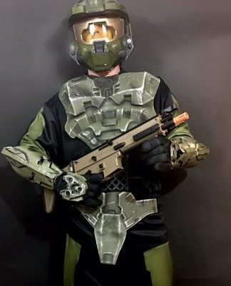 Halo- Deluxe Master Chief & Halo- Deluxe Master Chief - Hollywood Costumes