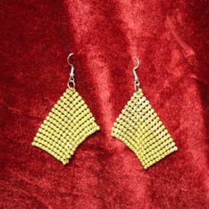 Gold/Silver Disco Earrings
