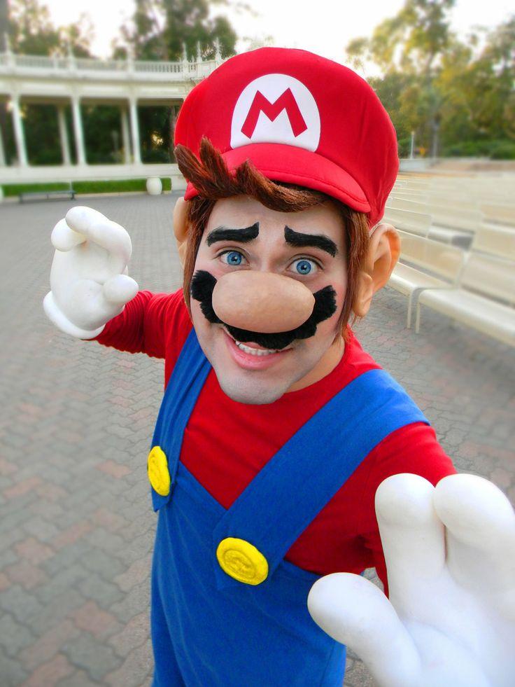 Super Mario Bros Mario Hollywood Costumes