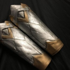 Amazon/Wonder Woman Headpiece and Gauntlets