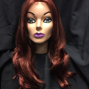 Mid Length Wig-Sangria Red